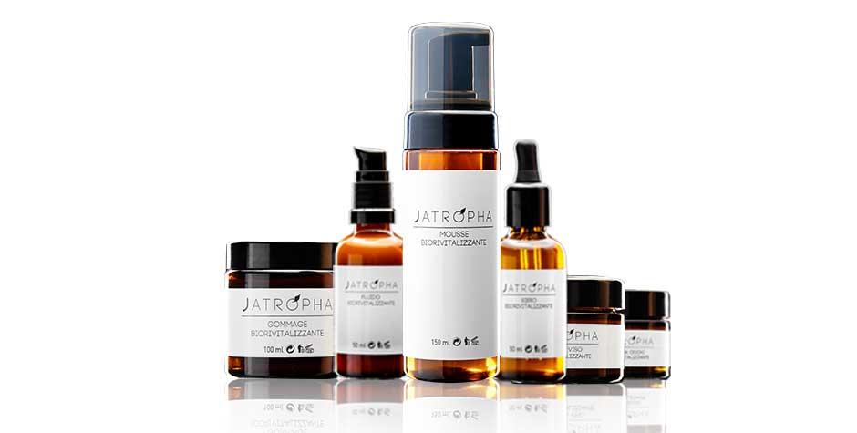 Prodotti cosmetici naturali jatropha viso