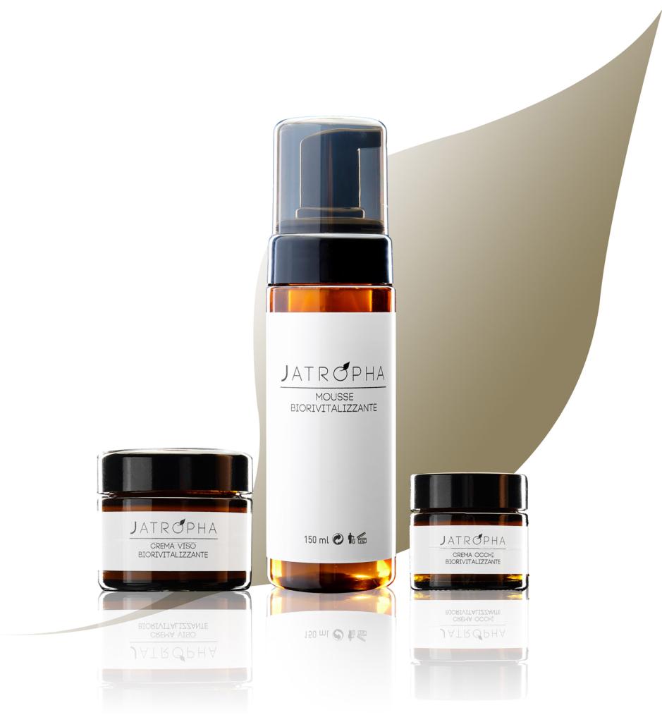 jatropha natural care linea prodotti skin care viso quotidiana