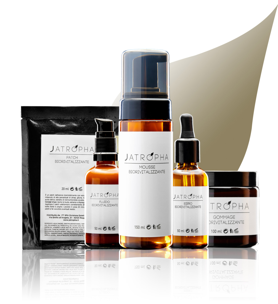 jatropha natural care linea professionale viso