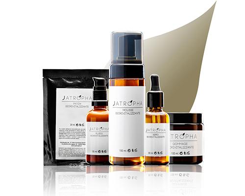 jatropha natural care linea professionale viso